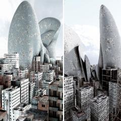 © Giacomo Costa, Imaginary Cities, da: www.giacomocosta.com