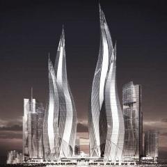 © TVS, Dubai Towers, Dubai, Rendering, da: www.researchgate.net