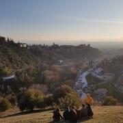 © Anthony Antonios, Granada, View to Alhambra, 2019