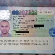© Anthony Antonios, Spain, Visa, 2019