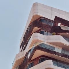 © Manuel Gelsomino/Sara Pecorara, Milano, CityLife, Dettaglio residenze Hadid, 2018
