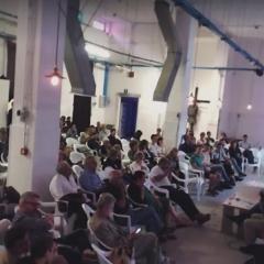 © Marco Grattarola, Spazio 21, Streaming Facebook della conferenza, La Rigenerazione dell'Ex Ospedale Psichiatrico di Quarto, Genova, 2018