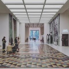 © Duccio Prassoli, Giovanni Muzio, La Triennale, Ingresso, Milano, 2018