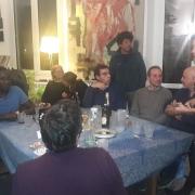 © Marcella Silvestri, Genova, Cena con amici, 2018