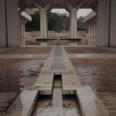 © Duccio Prassoli, Moschea di Roma, Canale da peristilio, Roma, 2019