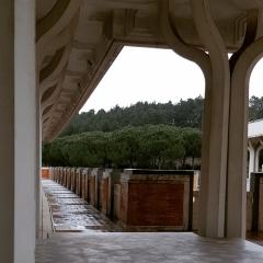 © Duccio Prassoli, Moschea di Roma, Vista colonnato peristilio, Roma, 2019