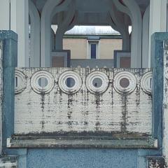 © Duccio Prassoli, Moschea di Roma, Vista parapetto da scala monumentale, Roma, 2019