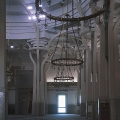 © Duccio Prassoli, Moschea di Roma, Vista sala di preghiera, Roma, 2019