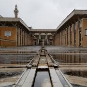 © Duccio Prassoli, Moschea di Roma, Prospetto principale, Roma, 2019