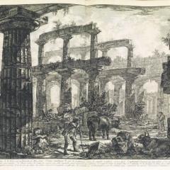 © Giovanni Battista Piranesi, Disegno, Roma, 1778, da: www.pandolfini.it