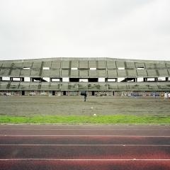 © Gabriele Basilico, Fotografia, Stadio da Polo, Giarre, 2007, da: www.rollingstone.it