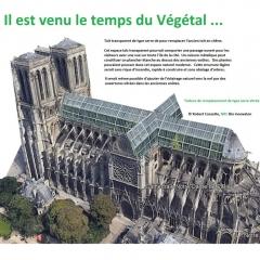 © Robert Cossette, Notre Dame, Parigi, 2019, da: www.finestresullarte.info