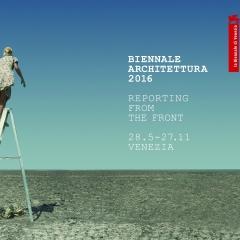 © Biennale di Architettura 2016, Reporting from the front, Copertina, da: archivio biennale