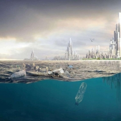 © Freishaerler, United Plastic Nation, Vista complessiva, da: www.freischaerler.archi