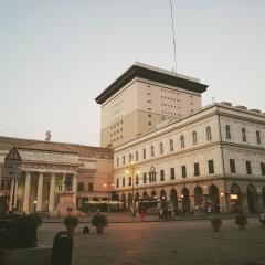 © Duccio Prassoli, Teatro Carlo Felice, Piazza De Ferrari, Genova, 2018