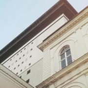 © Duccio Prassoli, Teatro Carlo Felice, Dettaglio angolo, Genova, 2018