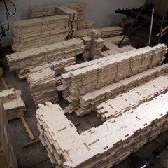 © WikiHouse Foundation, Prototype Pieces, da: www.wikihouse.cc