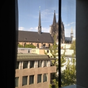 © Marco Grattarola, Kolumba museum, Cologne, Germania, Vista finestra, 2017