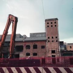 © Marco Grattarola, Ponte Parodi, Cantiere, Genova, 2018