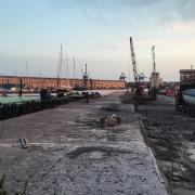 © Marco Grattarola, Ponte Parodi, Cantiere molo, Genova, 2018