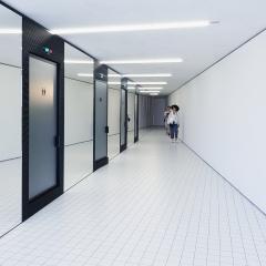 © Duccio Prassoli, Torre Prada, Servizi sanitari, Milano, 2018