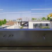 © Duccio Prassoli, Torre Prada, Dettaglio rubinetti, Milano, 2018