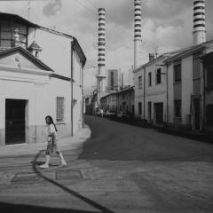 © L.Ghirri, Ostiglia, 1987, da: www.artuner.com